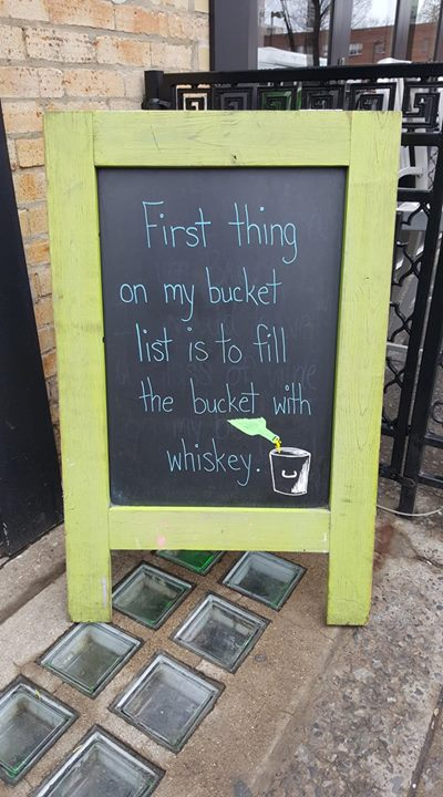 It's Whiskey Wednesday, come fill your bucket (and your belly!)