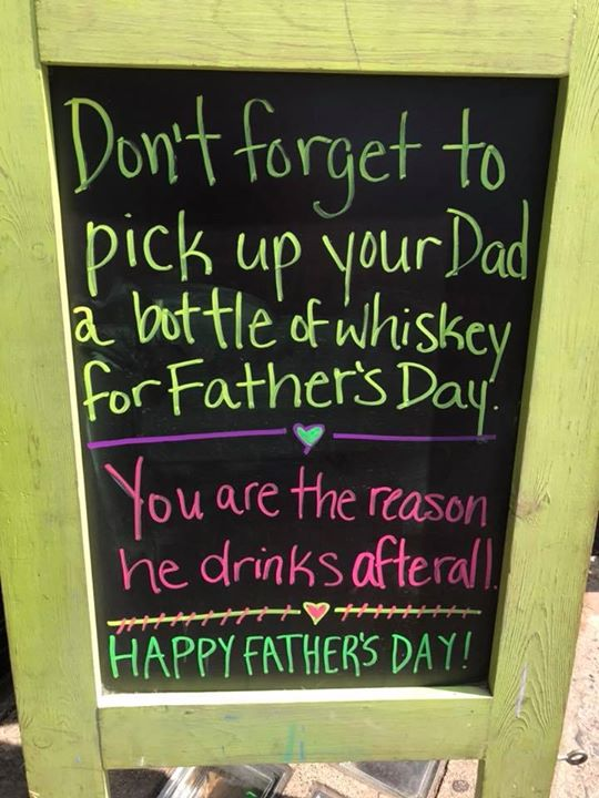 Happy Father's Day! Come celebrate at Local Whiskey!