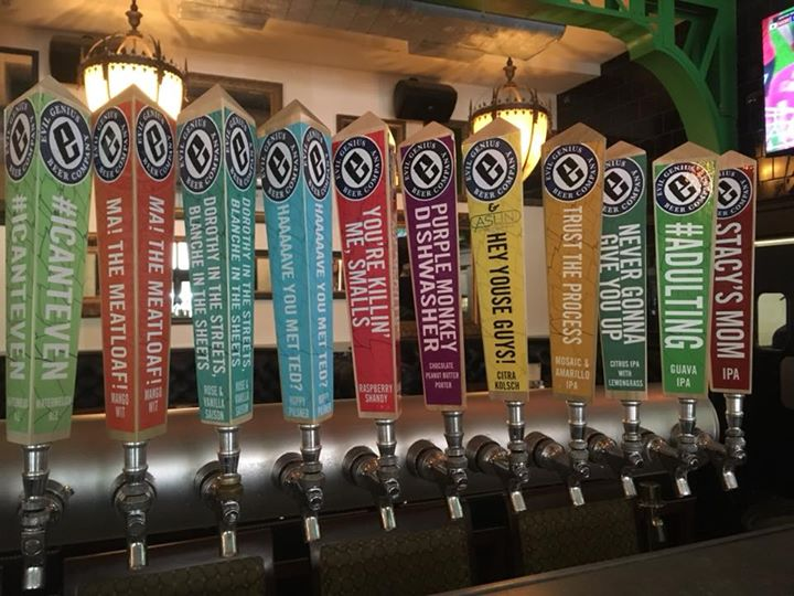 Ready, set, TAPPED!!! Join us for the Evil Genius tap takeover ALL DAY! Reps in at 6pm, don't miss out!