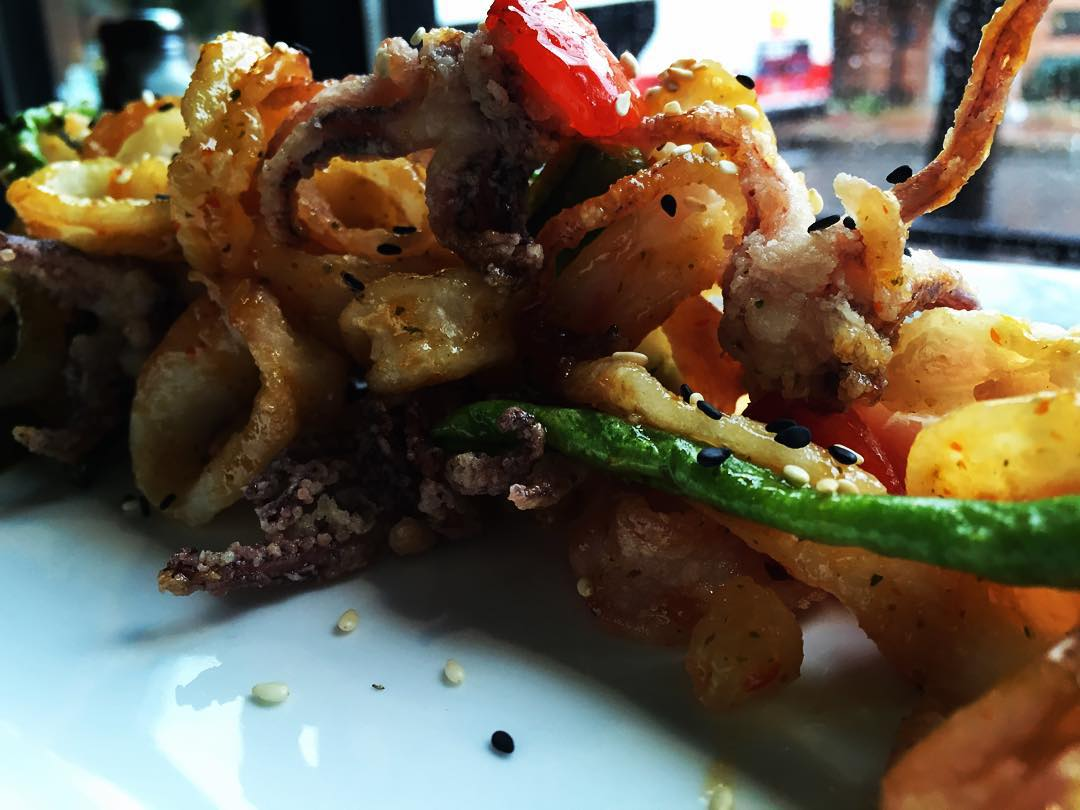 Yuck Foo Fried Squid