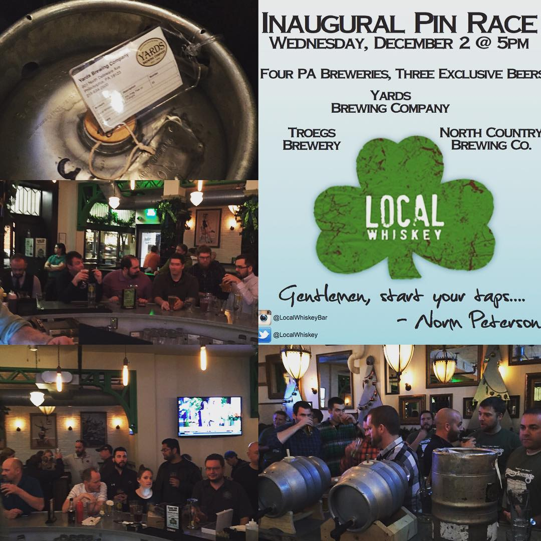 Our first Pin race! Congrats to @yardsbrew for taking the crown!