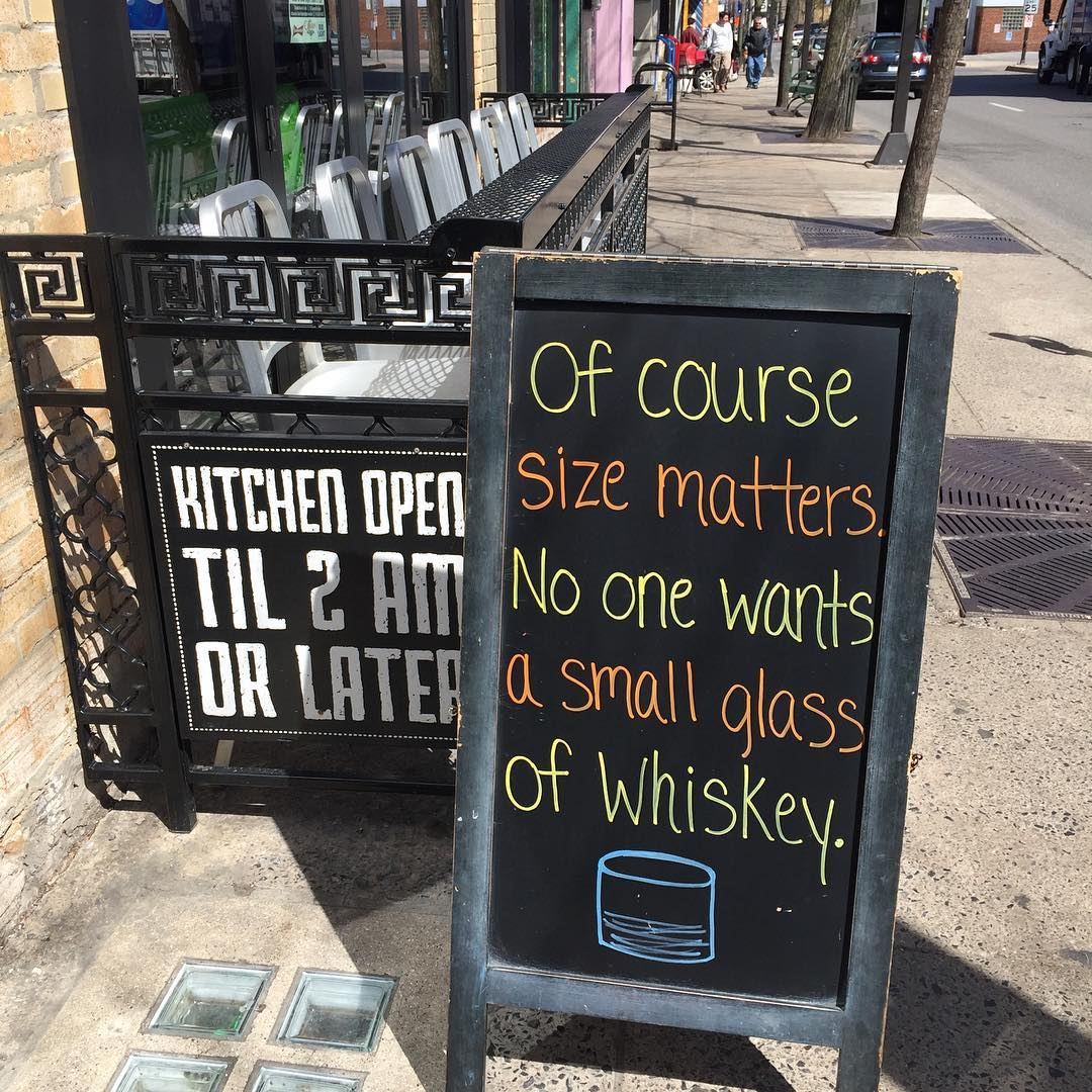 #sizematters #whiskey